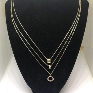 "BCBGeneration Jewelry - BCBG 20"" 3 Strand Crystal Necklace [JW-22]"
